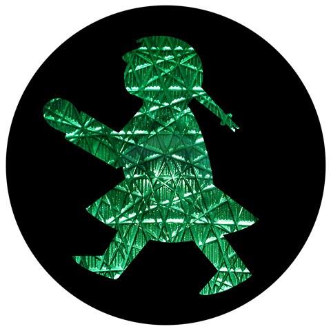 Ampelfigur grün