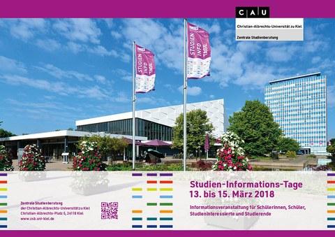 Studien-Informations-Tage 13. bis 15. März 2018