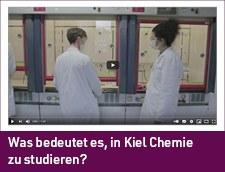 Link zum Video: Was bedeutet es in Kiel Chemie zu studieren?