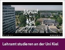 Link zum Video: Lehramt studieren an der Uni Kiel